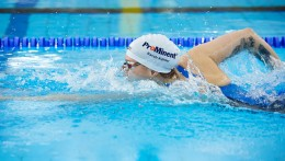 ProMinent의 후원은 사라 쾰러 선수의 수영복과 수영모를 통해 전 세계에서 확인할 수 있습니다.